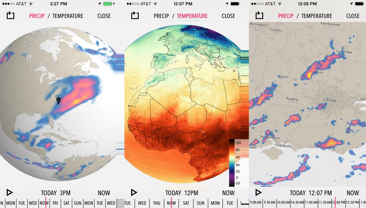 The New Dark Sky - Us radar map forecast